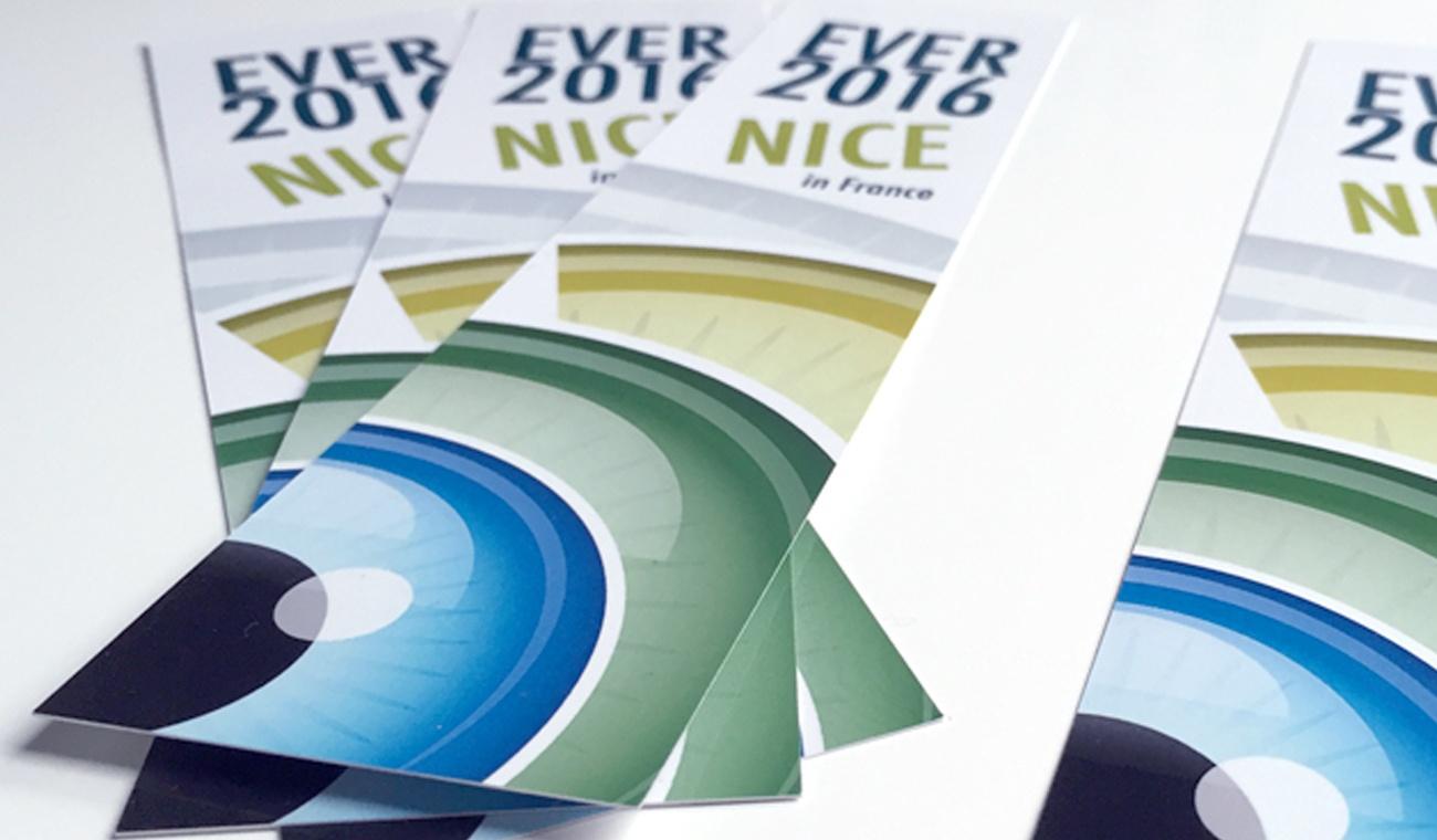 Promotiemateriaal voor het EVER 2016 congres