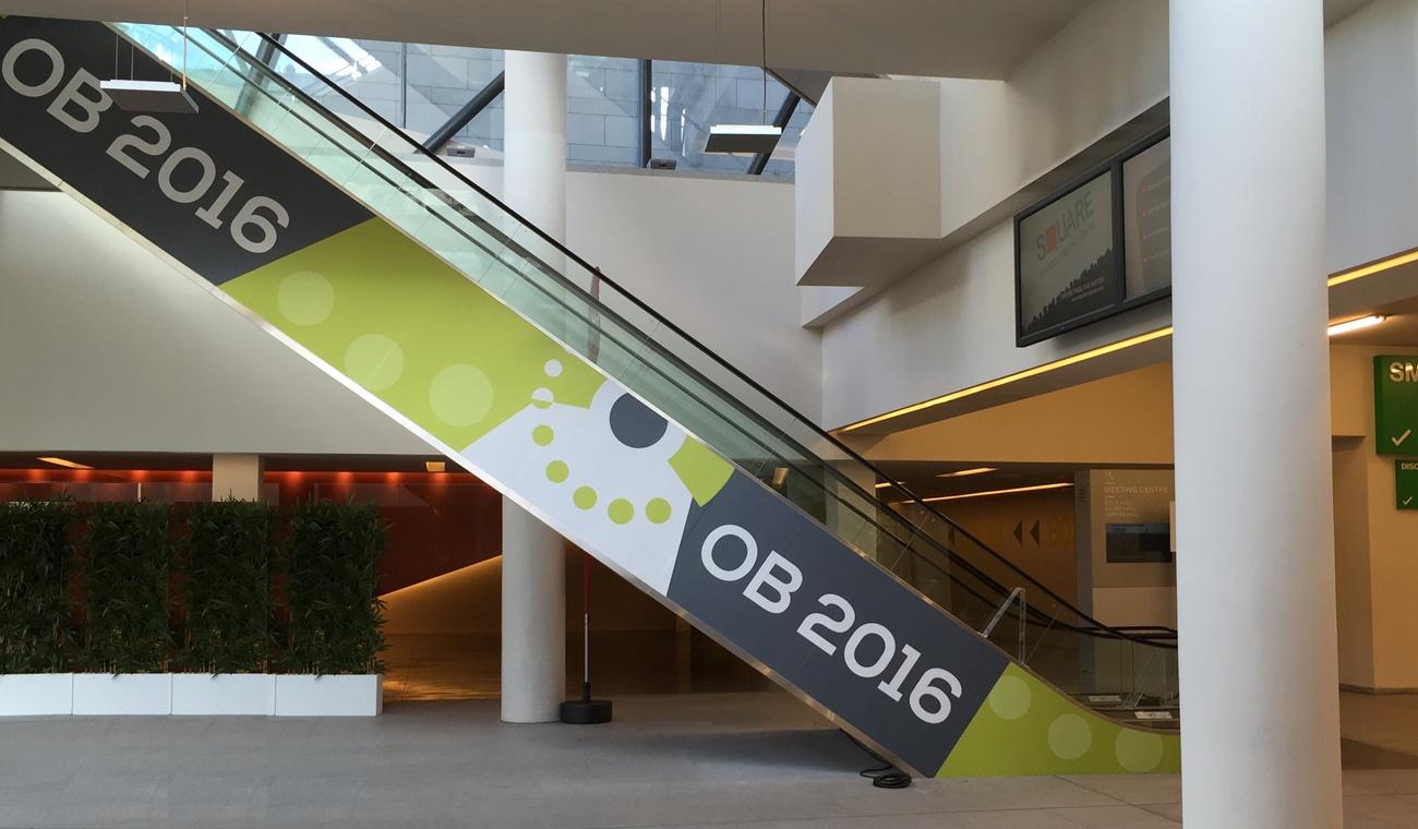 OB 2016 aankleding venue