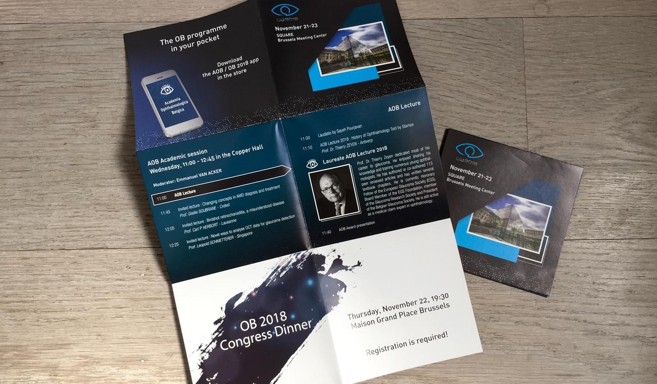 Opmaak OB 2018 overzicht programma zakformaat