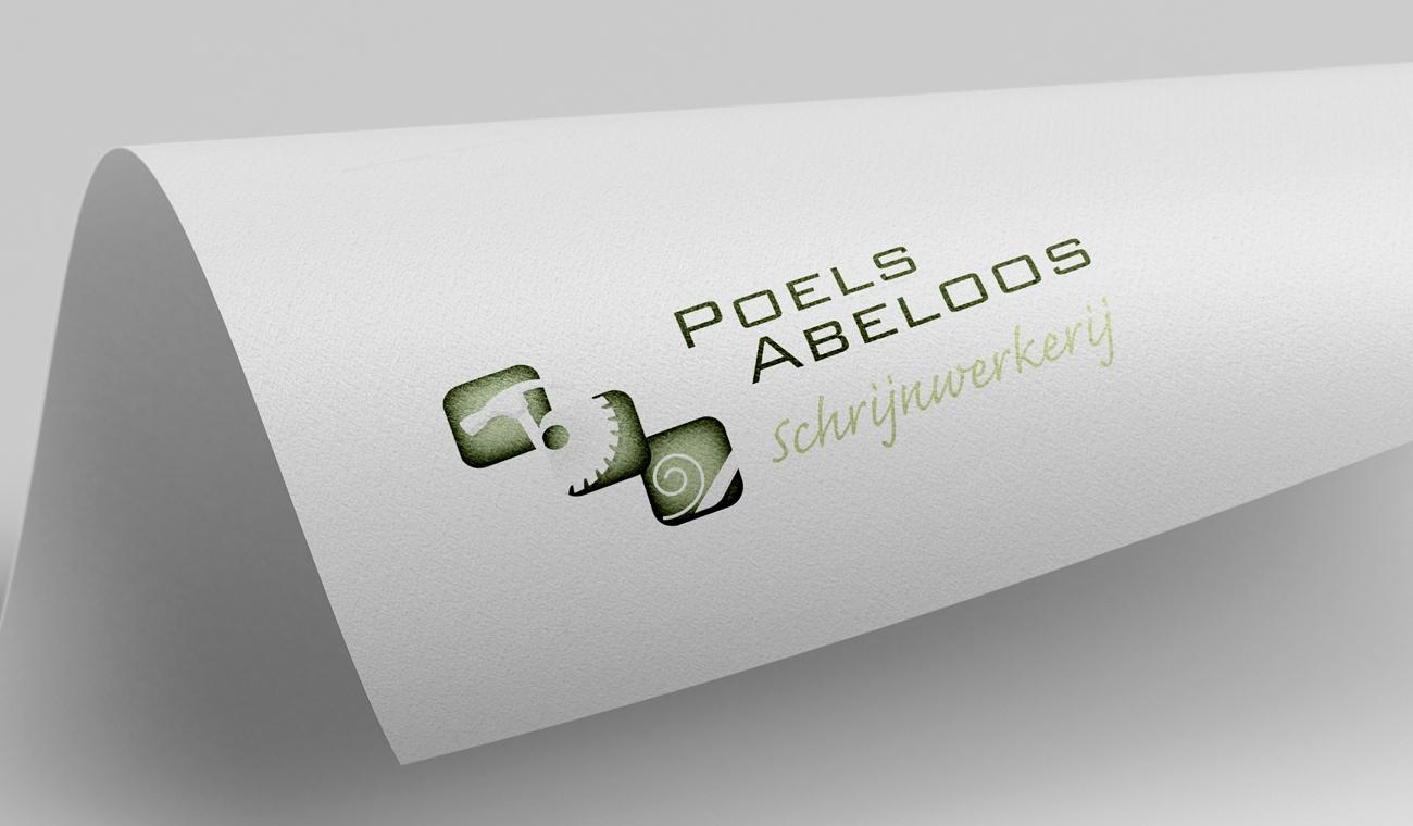 Ontwerp logo Poels-Abeloos Schrijnwerkerij