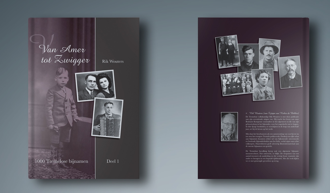 Opmaak boek Van Amer tot Zwigger Rik Wouters