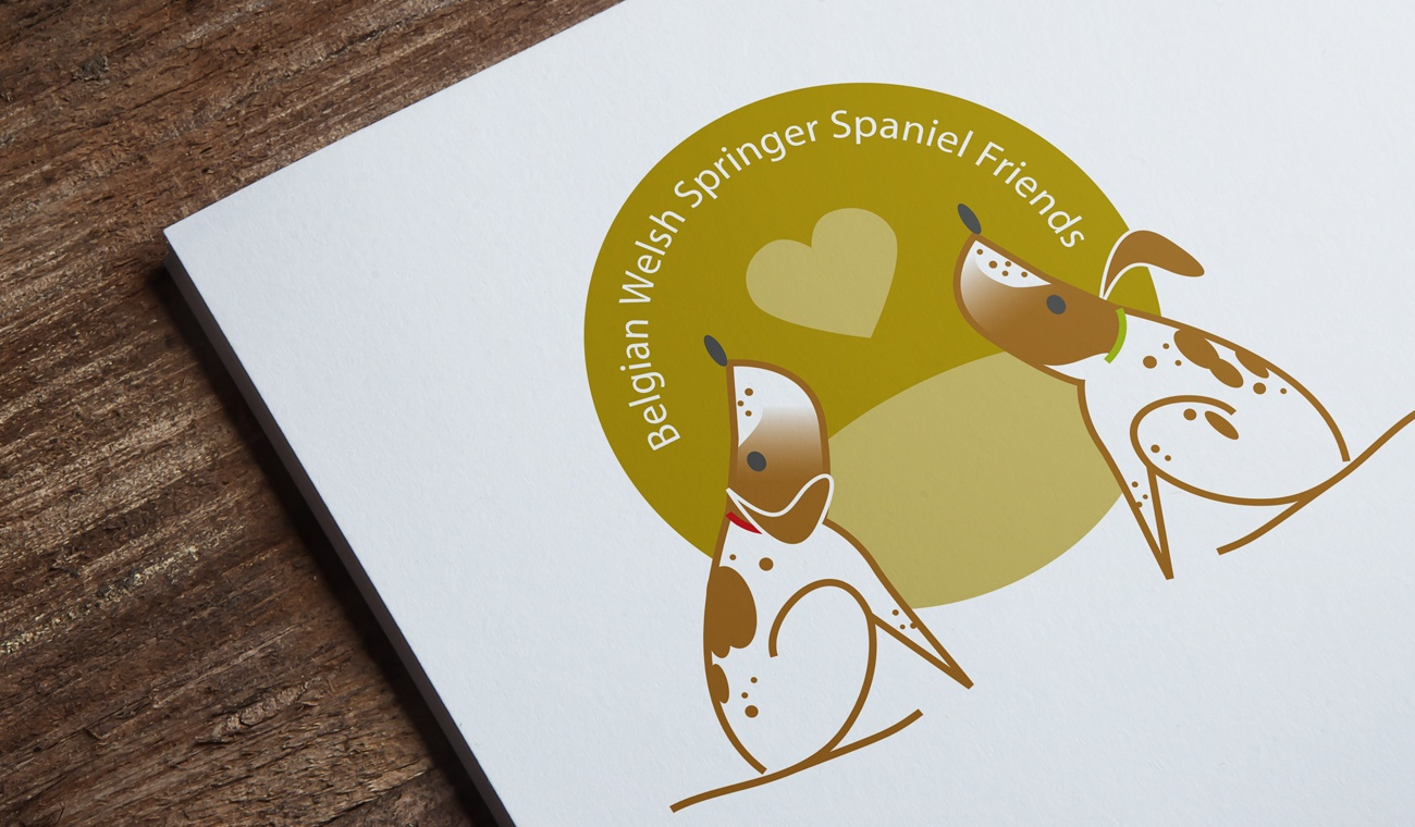 Opmaak logo Belgian Welsh Springer Spaniel Friends