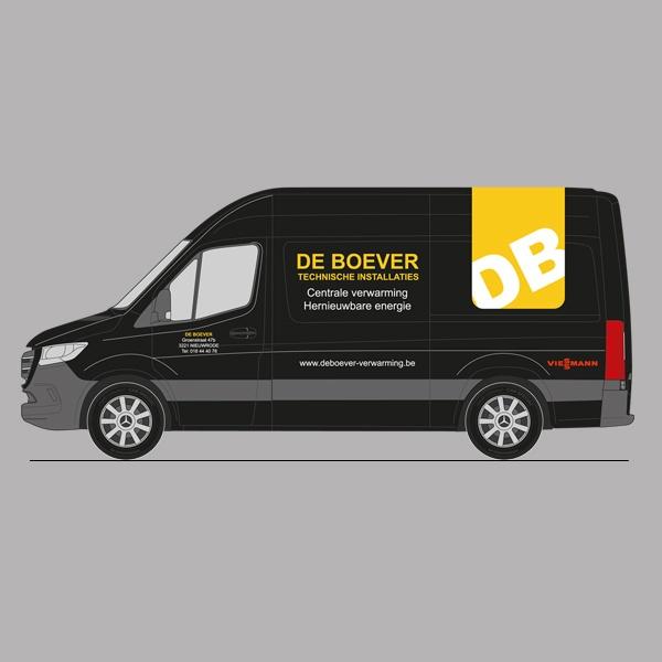 Ontwerp De Boever voertuigbranding