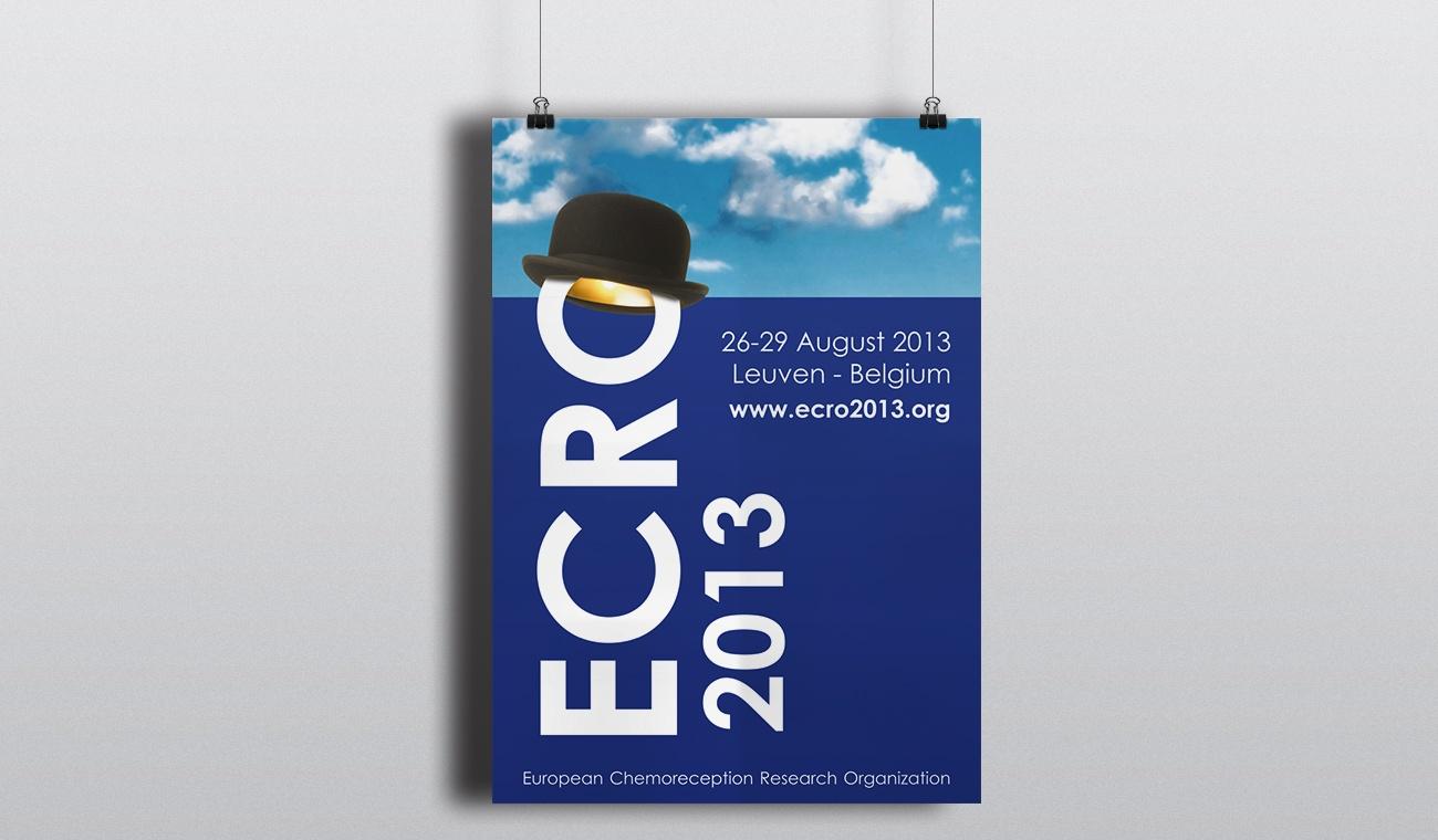 Opmaak affiche ECRO 2013