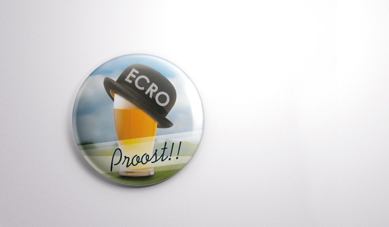 Ontwerp pins ECRO 2013