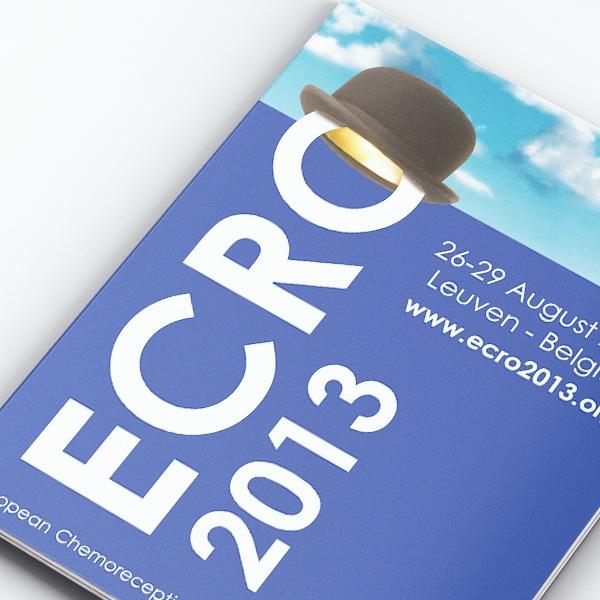 Opmaak drukwerk ECRO 2013