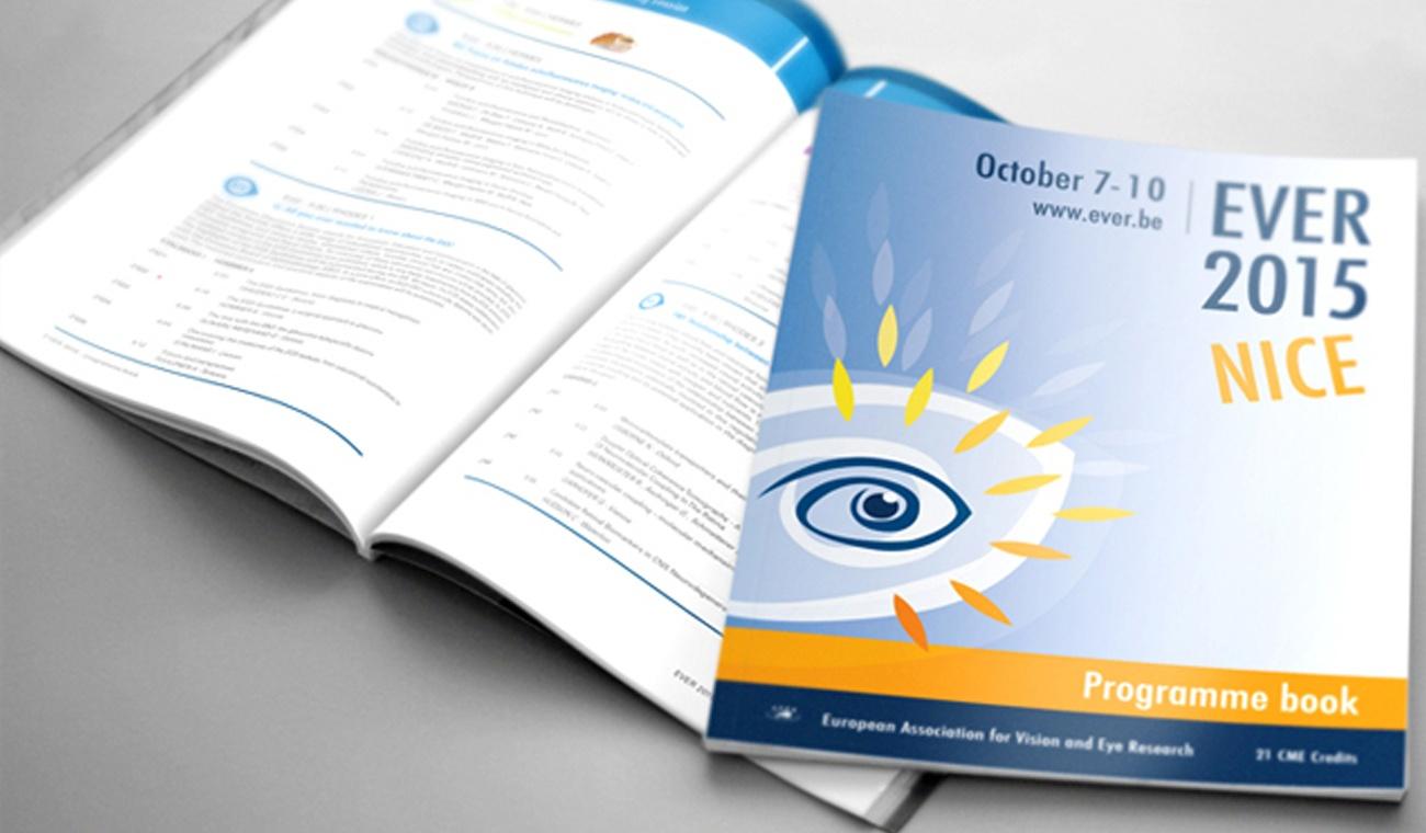 Ontwerp en opmaak programmaboek voor het EVER 2015 congres