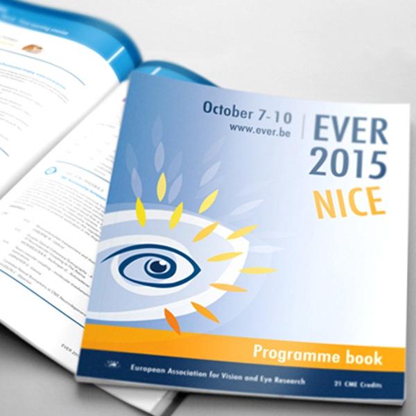 Opmaak drukwerk voor het EVER 2015 congres