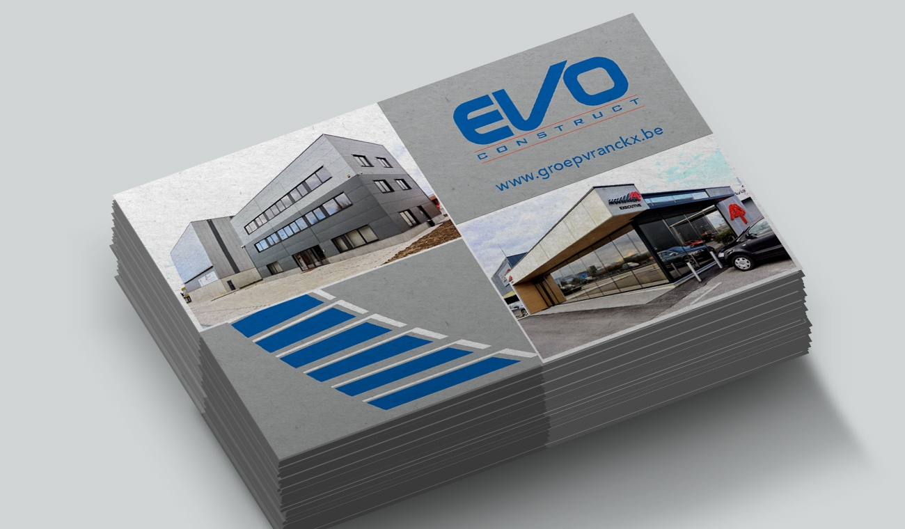 Opmaak EVO Construct naamkaartje