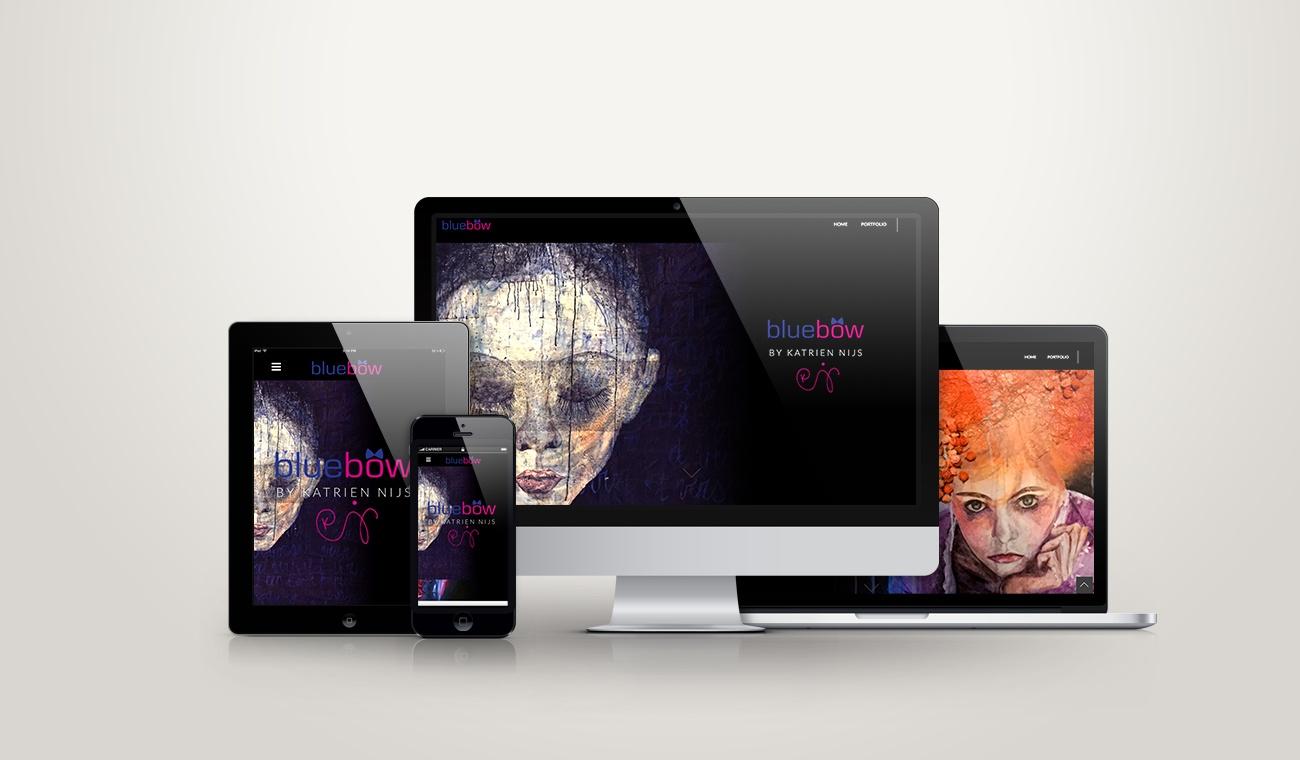 Opmaak en uitwerking Wordpress site Katrien Nijs