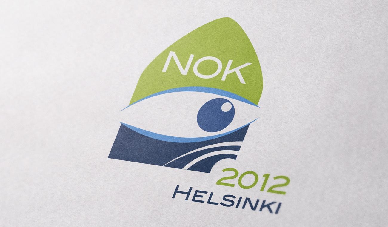 Opmaak van het NOK 2012 logo
