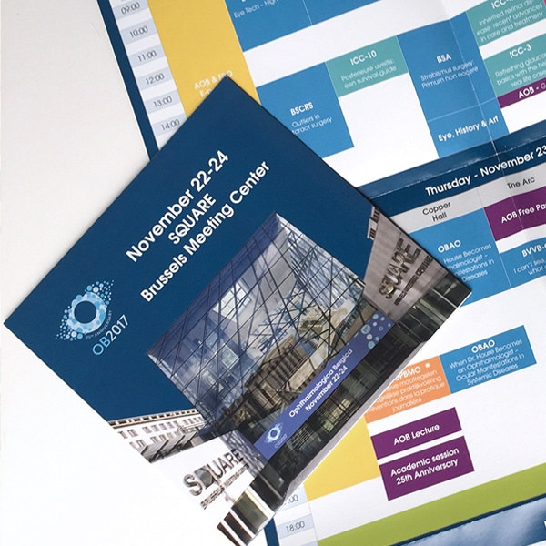 Opmaak OB 2017 overzicht programma zakformaat