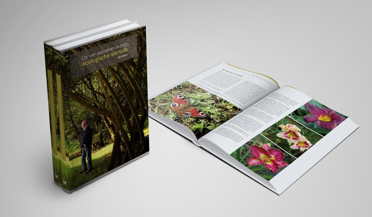 Opmaak boek Tuinimpressies van Rik Wouters