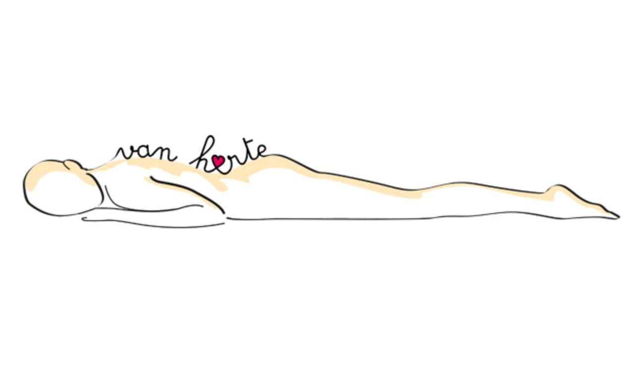 Opmaak logo Van Harte Massage