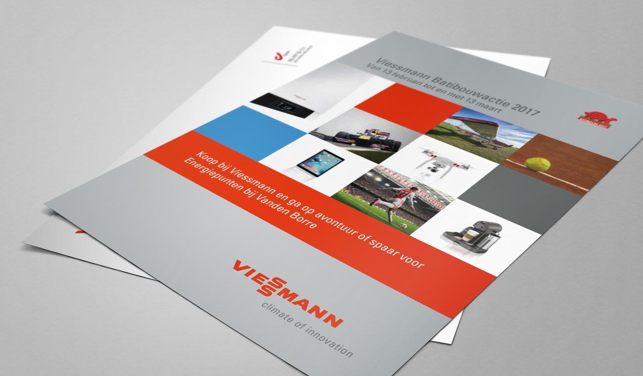 Ontwerp brochure Viessmann